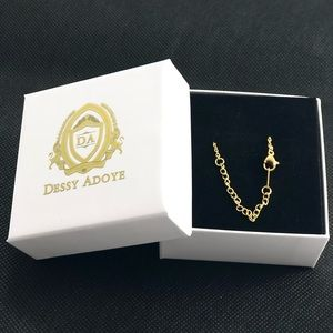 Dessy Adoye Jewelry - 14K Gold Plated Name Necklace - Scarlett